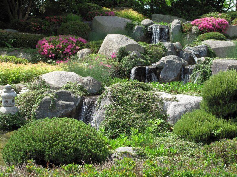 50 Pictures Of Beautiful Backyard Garden Waterfalls Ideas