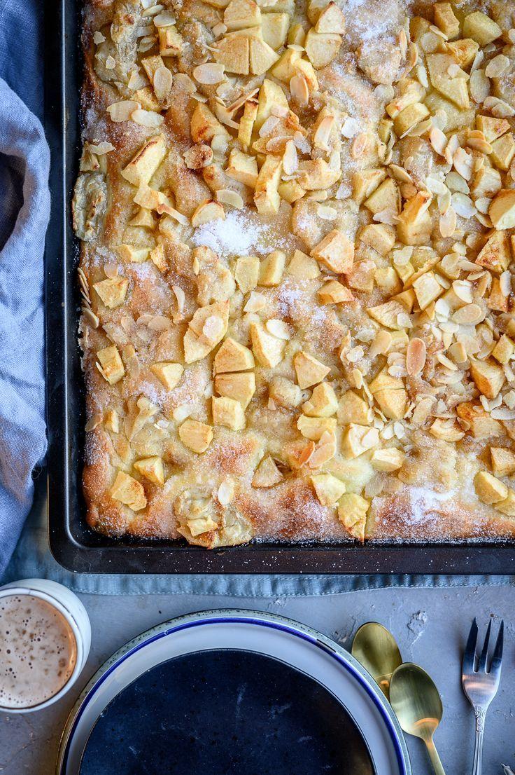 Baked apple butter cake - Backen #helloautumn