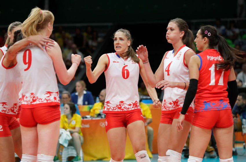 Olympics volleyball results: August 18