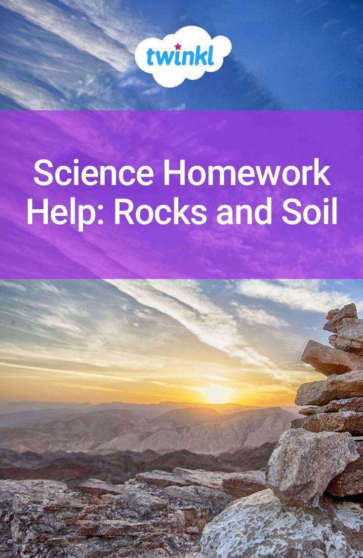 Rocks homework help