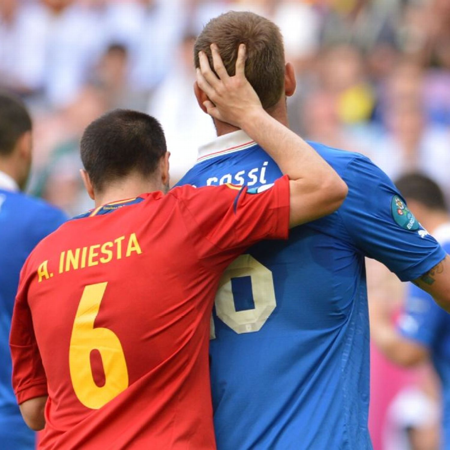 Euro 2016 round of 16: Italy vs. Spain live commentary