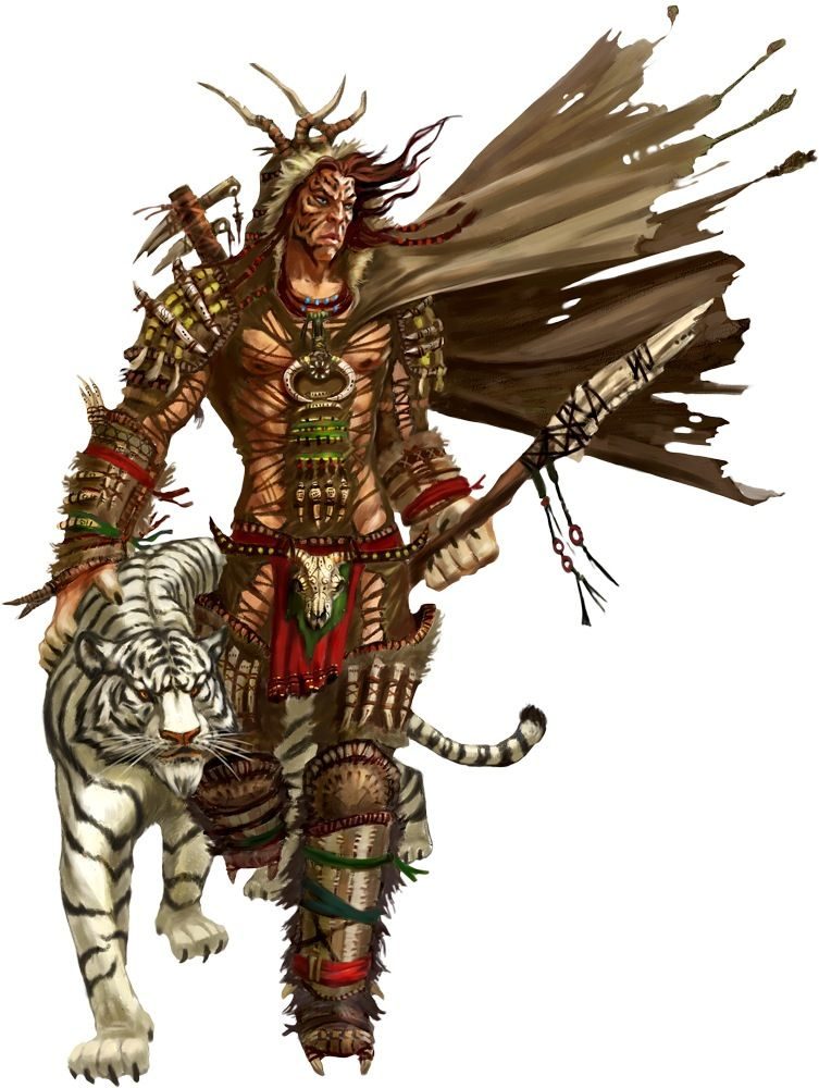Paizo Character   Character - Archers & Animal Lords   Pinterest ...