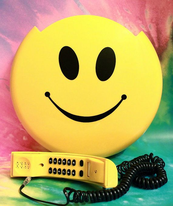 Vintage Rare 90s Happy Smiley Face Novelty By Thingsyoulllovenlife 100 00 Stikers Emoticone