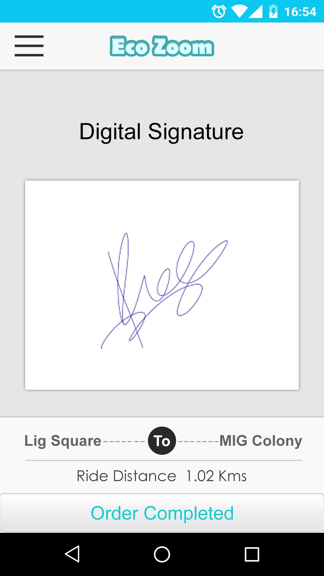 Digital Signature Images