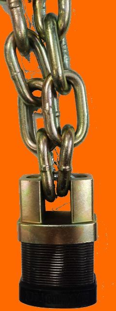 Commando Ic3 Patented Padlock With Shackle Guard Is A Stronger Lock It Looks Cool Too Security Tools Commando Lock