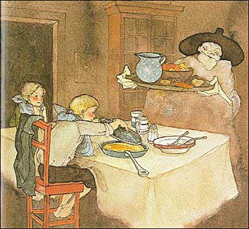 Hansel et Gretel Illutration de Lisbeth Zwerger