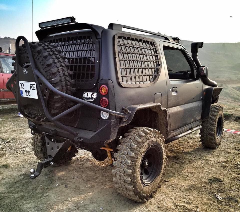 A Tough Looking Jimny From The 4wd Tv Facebook Page Suzuki Jimny Jimny 4x4 Suzuki Jimny Off Road