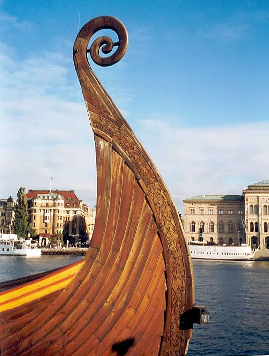 Viking ship - Stockholm, Sweden. Our tips for things to do in Stockholm: http://www.europealacarte.co.uk/blog/2011/02/28/things-to-do-stockholm/