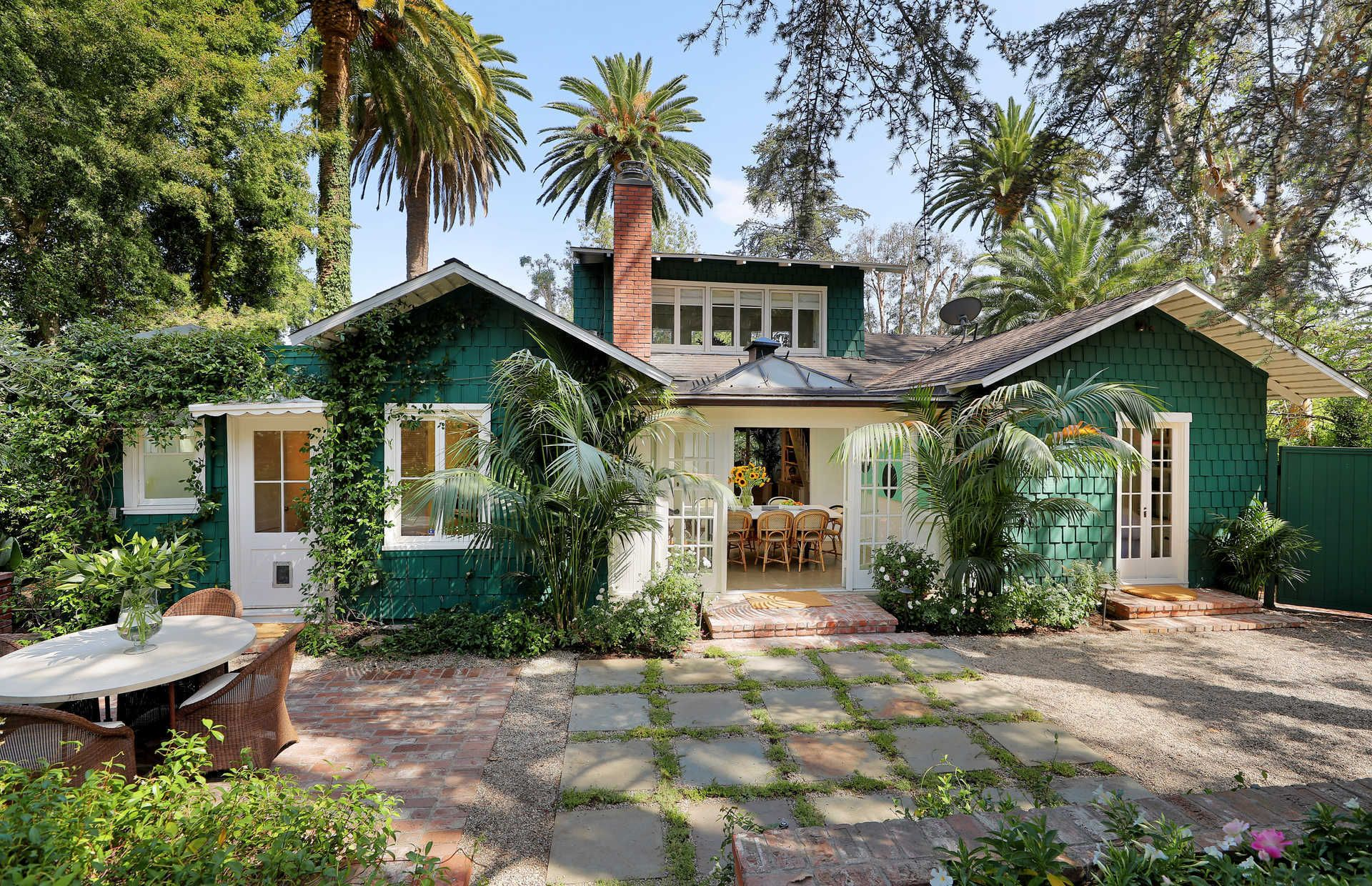 A Classic Craftsman Bungalow Charms in the Hollywood Hills