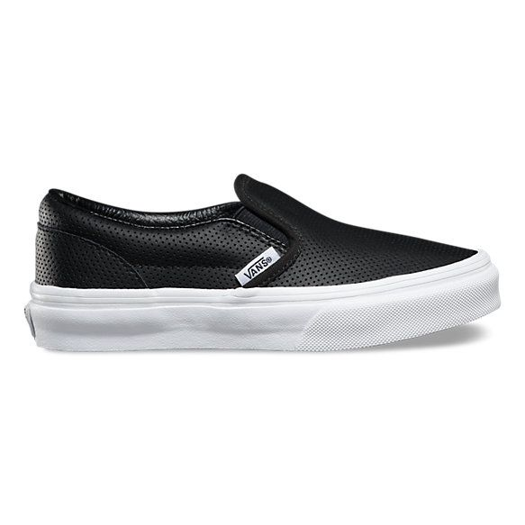 Leather slip ons, Girls shoes, Slip