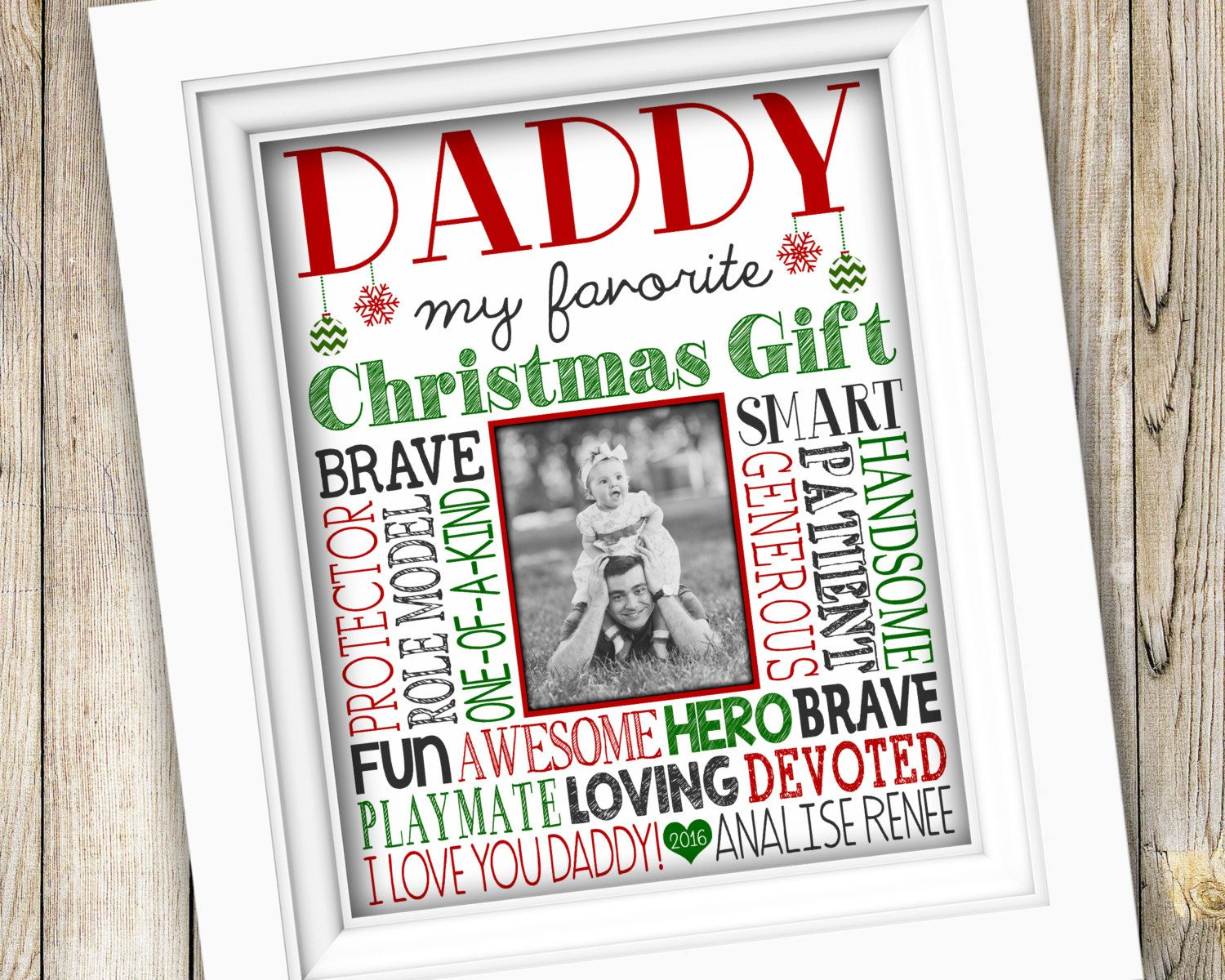 Christmas Gift For Daddy From Child Daddy S First Christmas Gift Printable Christmas Gift Baby Christmas Gifts Teacher Christmas Gifts First Time Dad Gifts