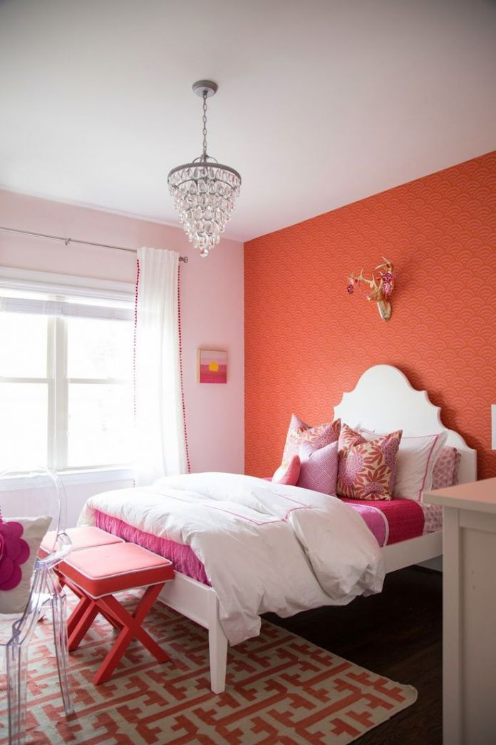 Pink Girl Bedroom Ideas - Low Budget Bedroom Decorating Ideas Check ...