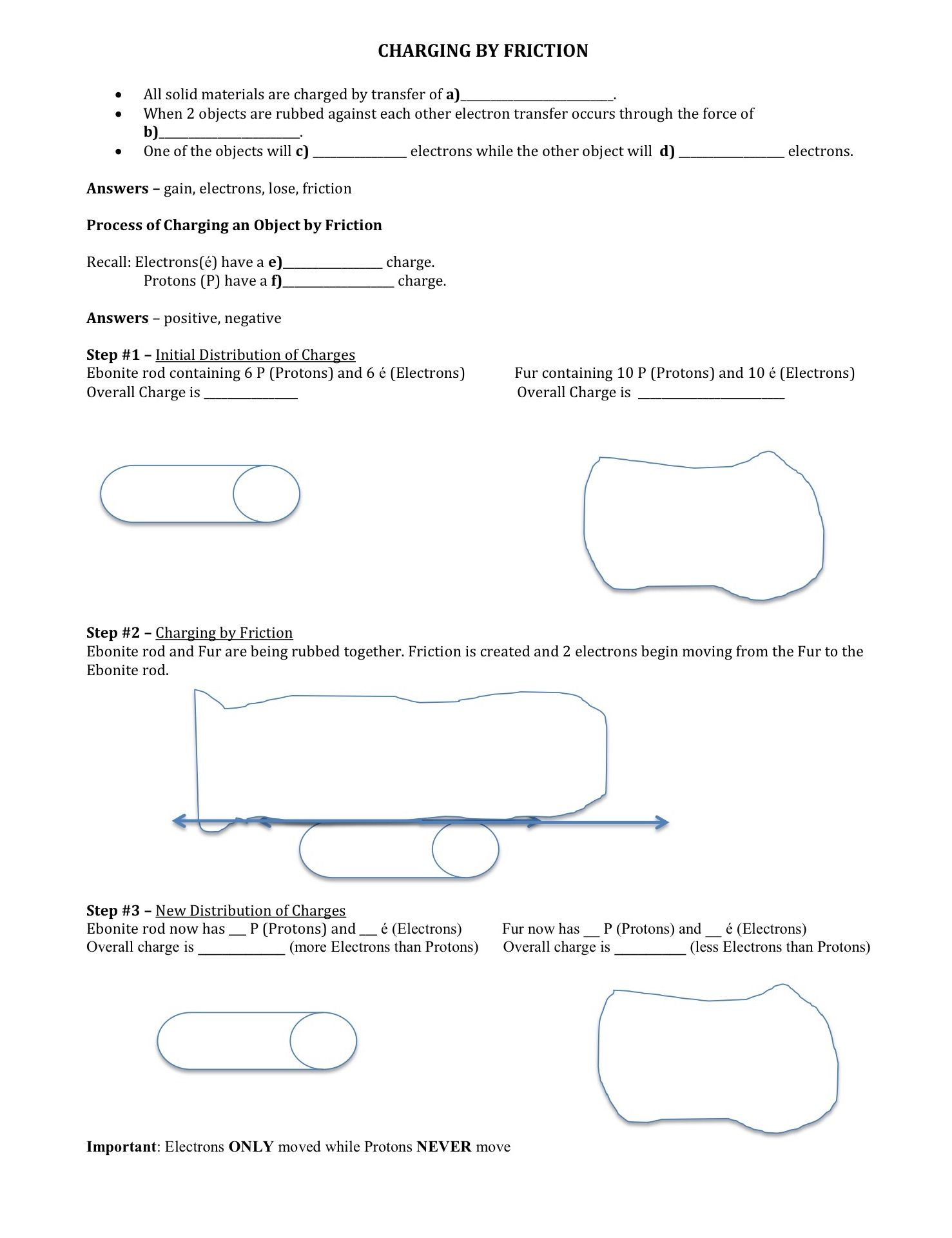 medium resolution of Friction Worksheets For Elementary   Printable Worksheets and Activities  for Teachers