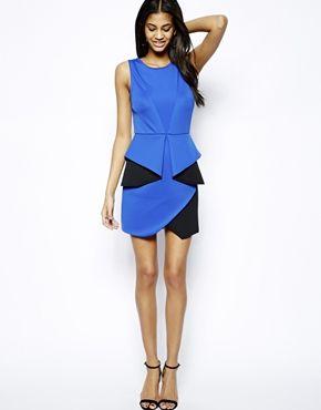 Immagine 4 di ASOS - Vestitino aderente effetto origami