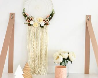 Floral Dream Catcher