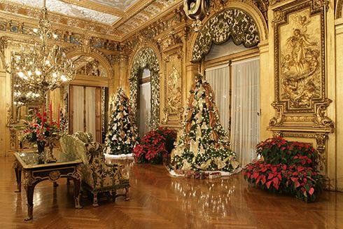 Newport Mansions Christmas 2021 Christmas At The Newport Mansions Newport Mansions Marble House Christmas Interiors White House Christmas