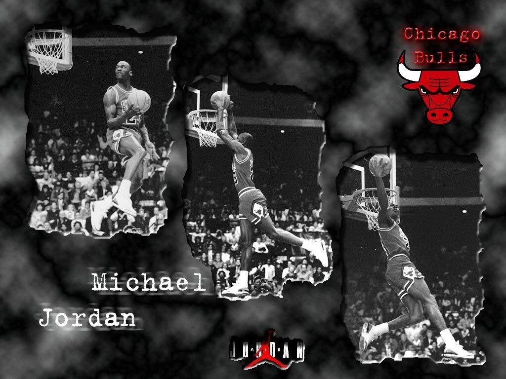 MJ @ Slamdunk Contest..