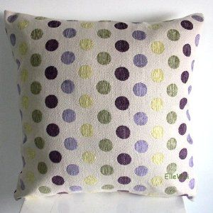 Purple Green Throw Pillows   Home Kitchen Bedding Decorative Pillows  Inserts Covers Pillows