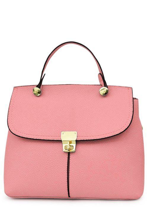 Pink Tote Bag ==