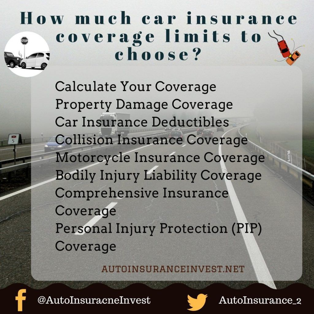 How Much Car Insurance Coverage Limits To Choose Carinsurance