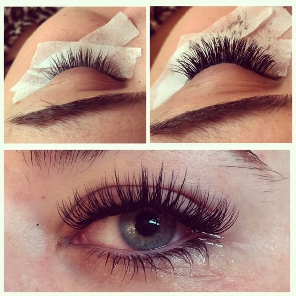 Individual Eyelash Extensions. http://www.extensionsocils.com ...