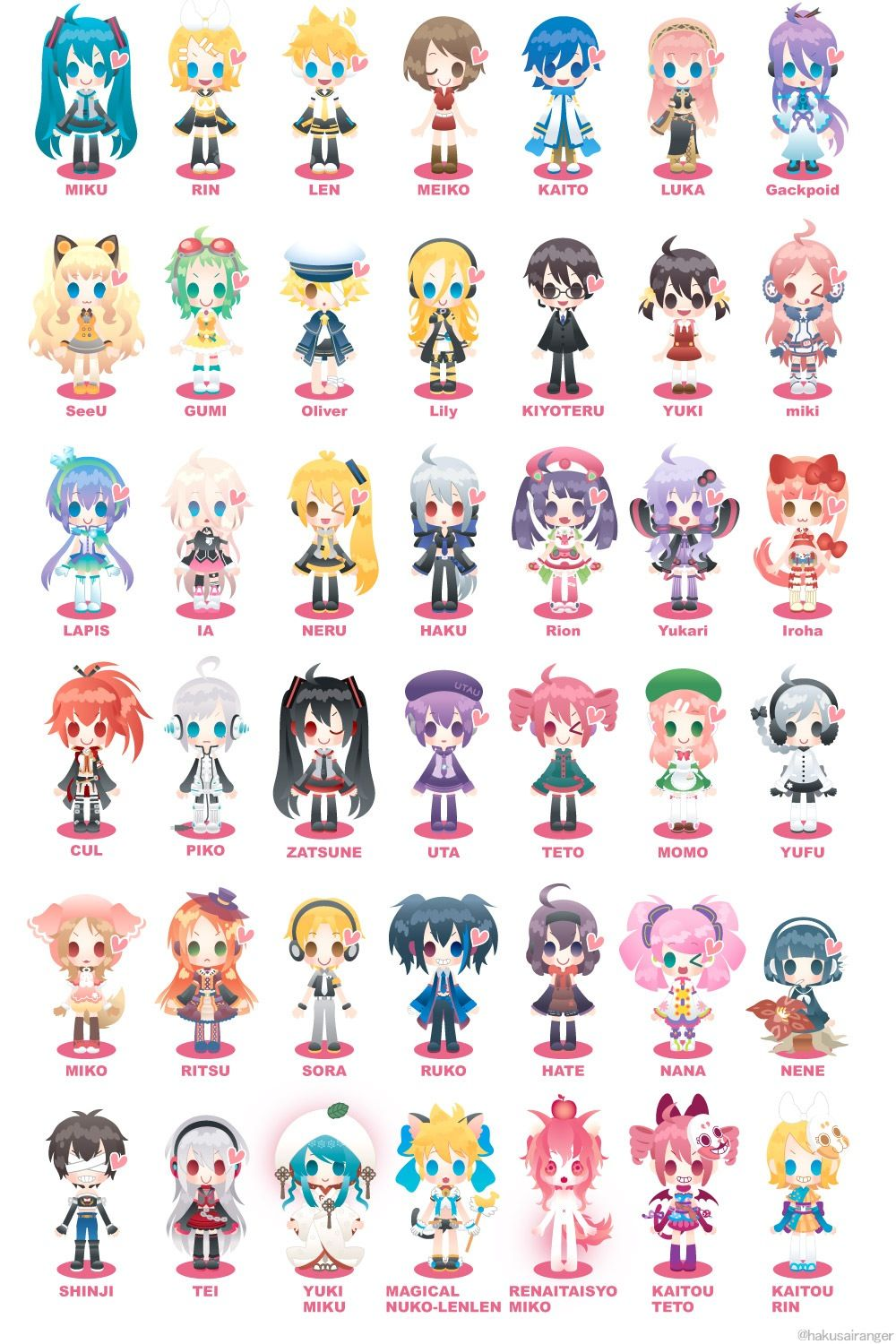 vocaloid family tree vocaloid