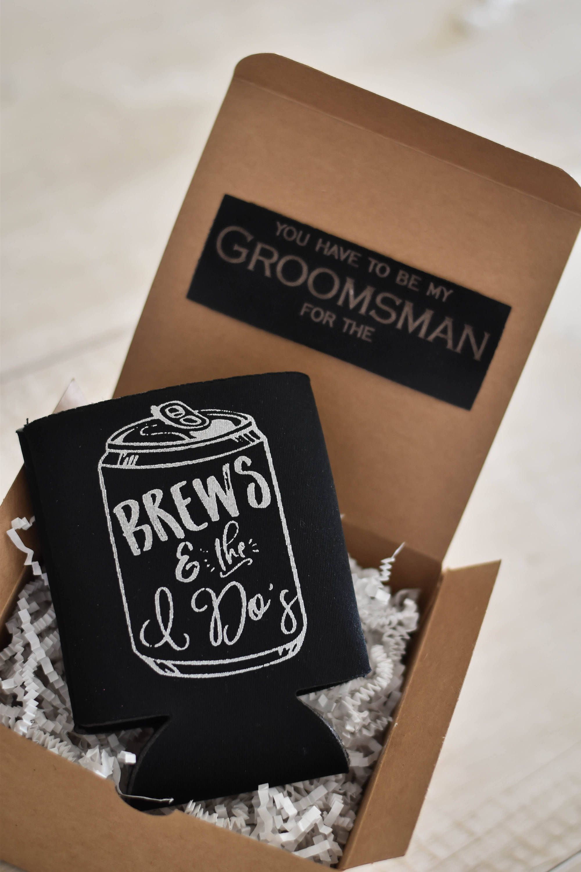 Groomsmen Proposal Gifts  Will you be my Groomsman  Groomsmen Can Coolers  Be my Best Man