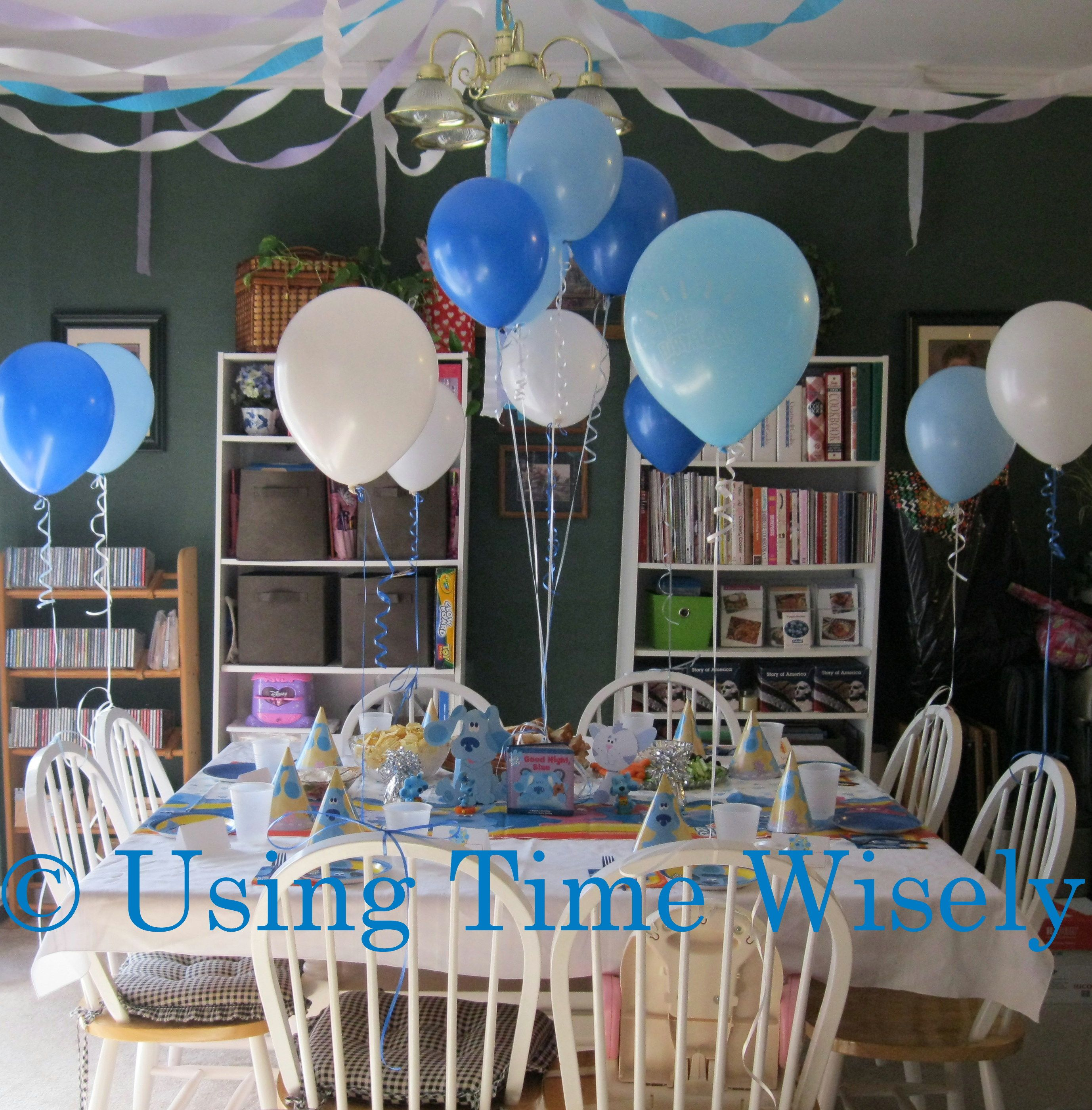 Blues Clues Birthday Decorations 2 Year Old