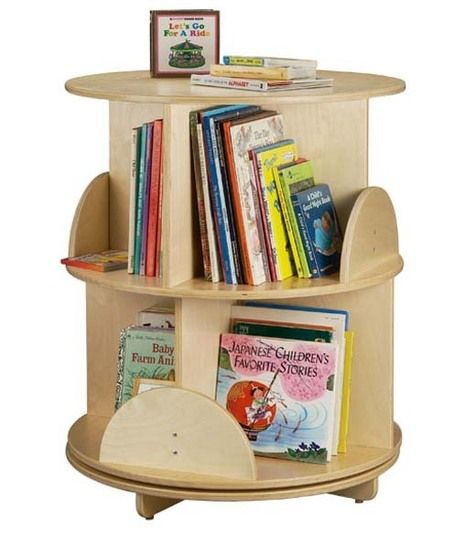Space Saving Idea: Revolving Bookcases Pictures