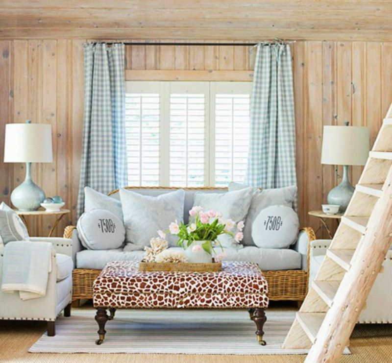 Country Cottage Window Treatments