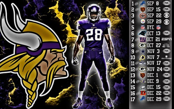 Minnesota Vikings 2013 Schedule
