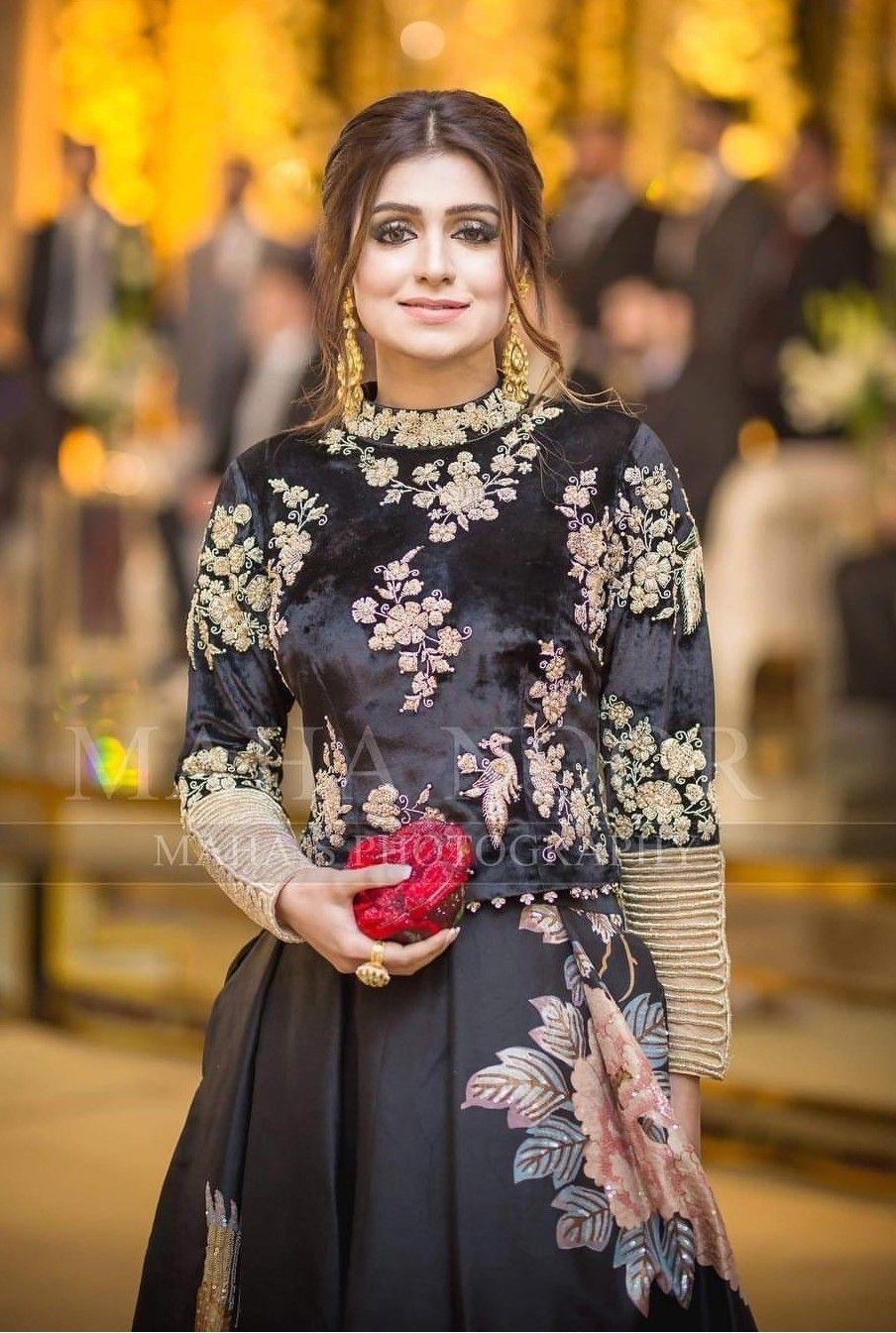 Pin by Madiha Adnan on Eastern dresses  Velvet dress designs