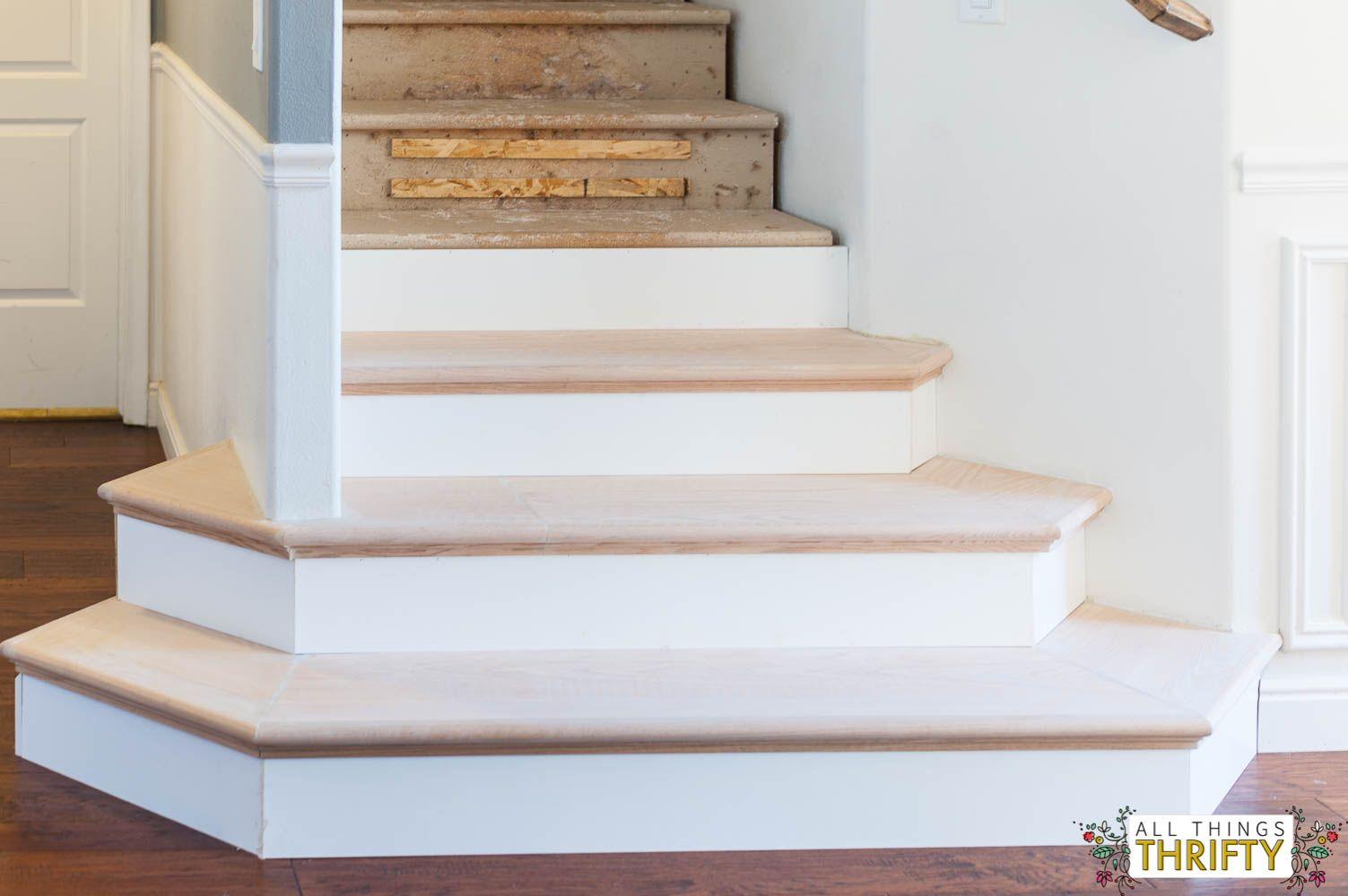 DIY Staircase Remodel | Stair Covers | Stair Caps | Stair Facing | Stair  Refacing | Stair Parts | Hardwood Stairs