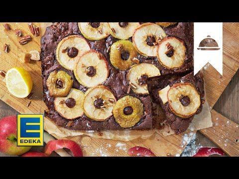 Apfel Toffee Brownie Rezept Edeka Susses Pinterest Brownie