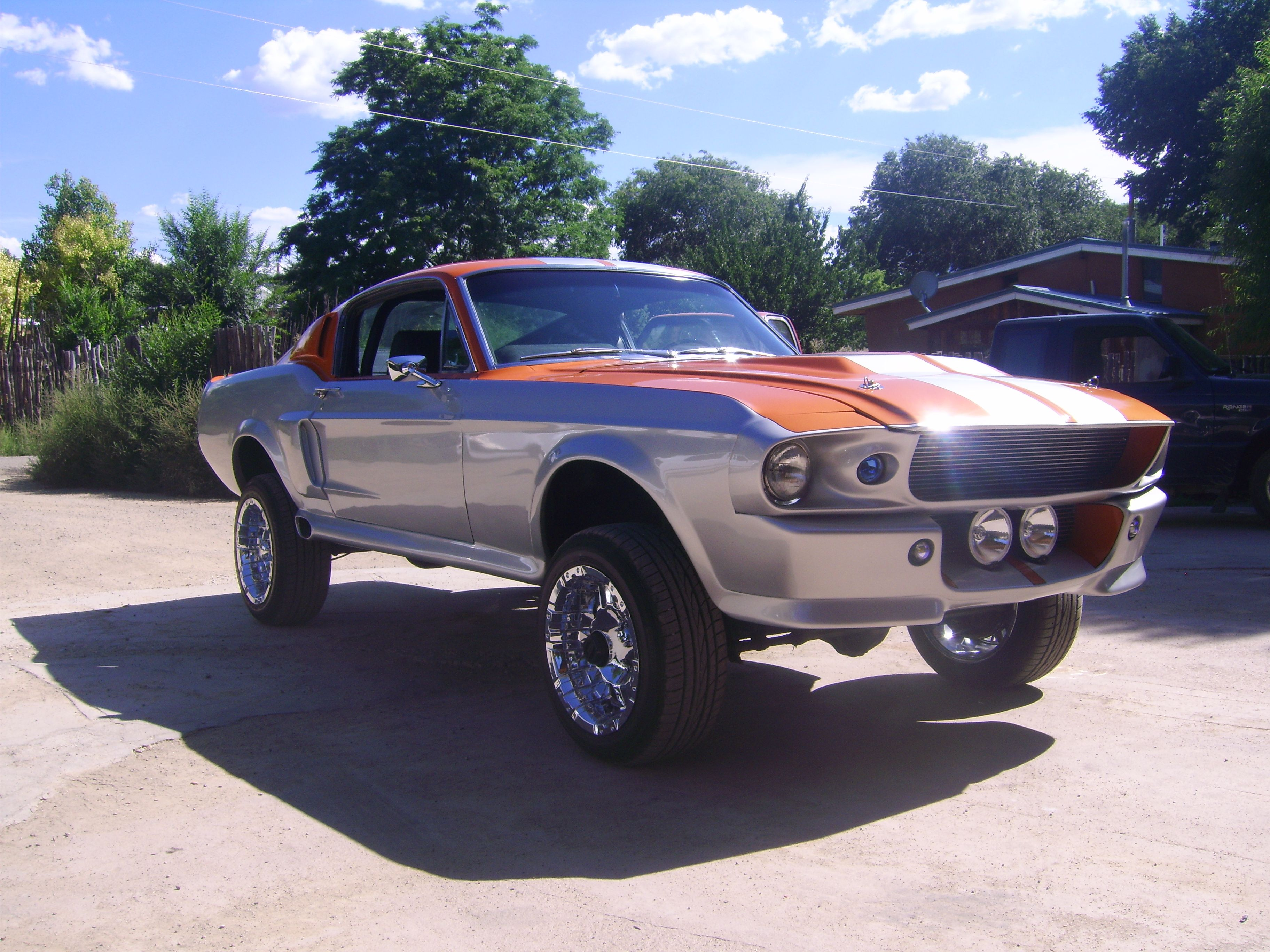 4x4 mustang, Eleanor\'s brother | Car Jacked.. | Pinterest | 4x4 ...