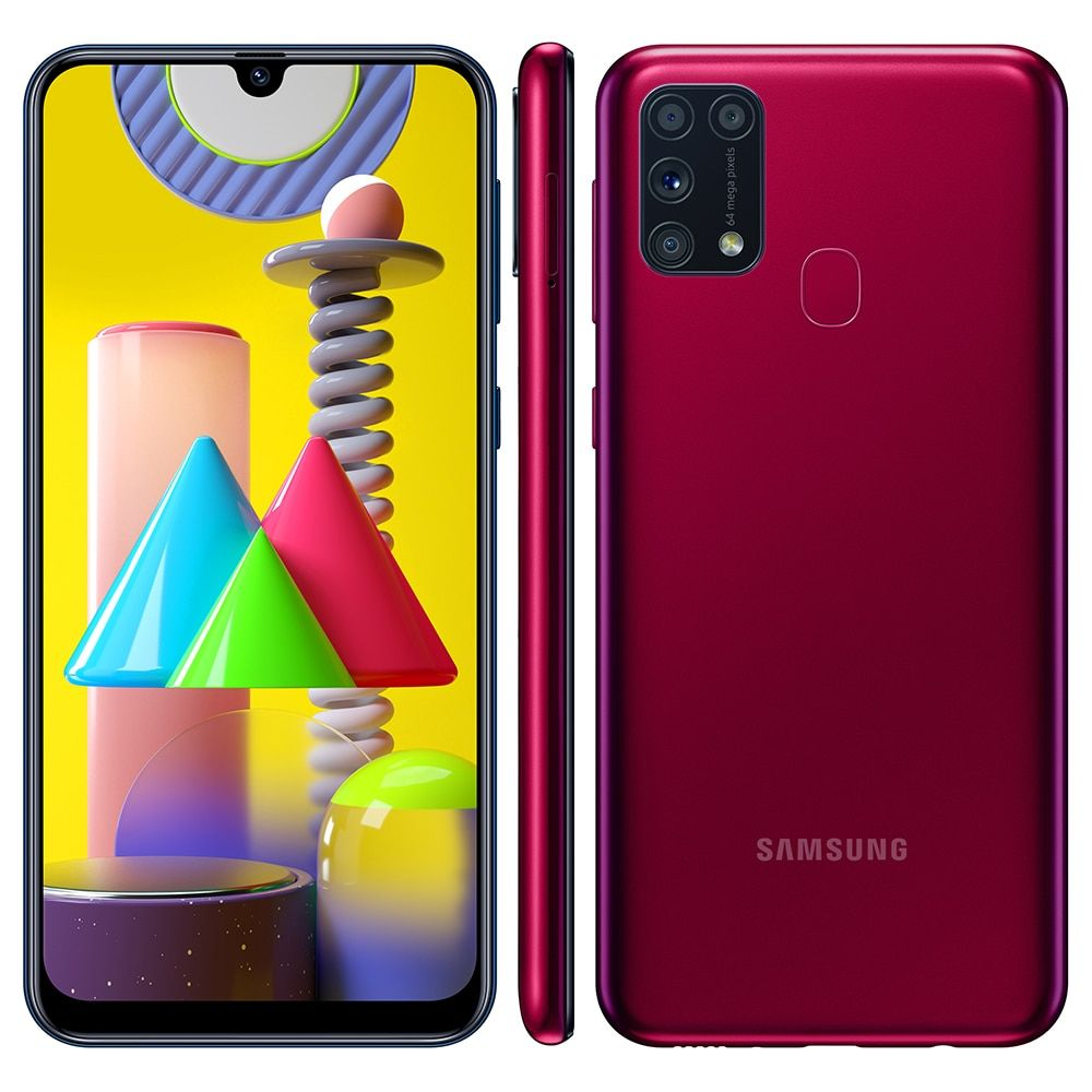 Smartphone Samsung Galaxy M31 Rosa 128gb Google Nest Mini Preto Android Casas Bahia 17761487 Samsung Galaxy Smartphone Samsung