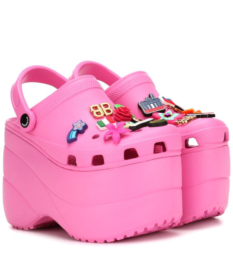 Platform crocs, Pink crocs, Crocs