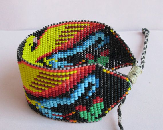 Native American Inspired Aztec Men's Beaded by pachamamanativeart, $45.00