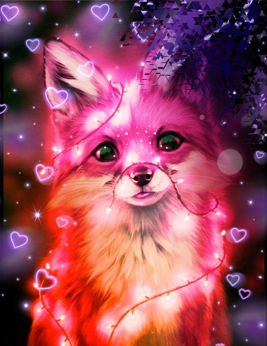 Fantasy Fox Wild Animal Wallpaper Iphone Cute Animal Drawings Kawaii Cute Wild Animals Cute Cartoon Animals