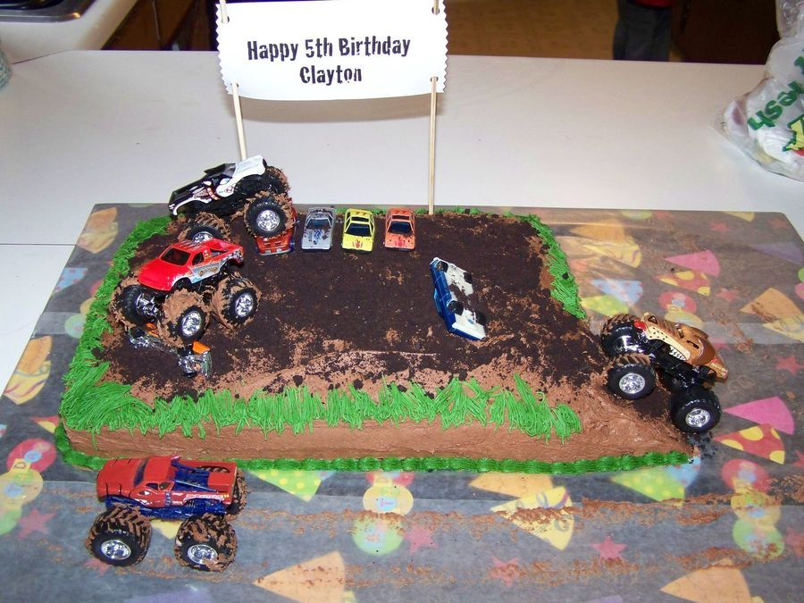 Monster Truck Cake on Cake Central | Monster trucks | Pinterest