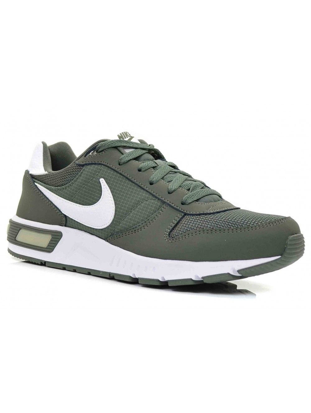 NIKE NIGHTGAZER HEREN SNEAKERS - ARMY WIT | SS15