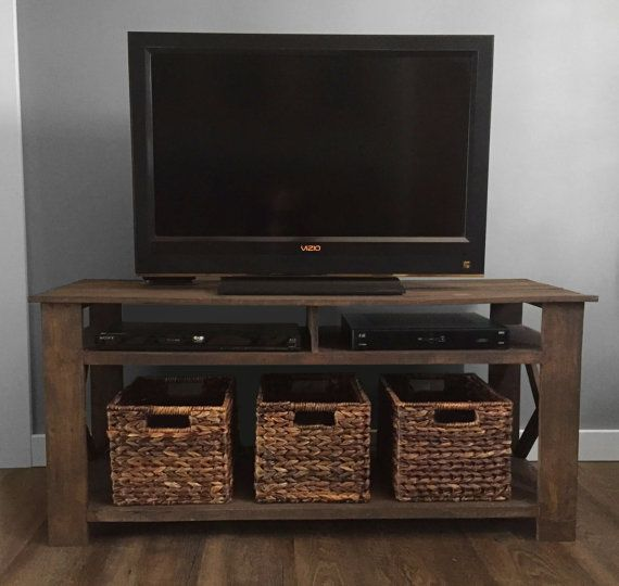 Pallet Tv Stand rustic pallet tv stand plans | pallet tv stands, pallet tv and tv