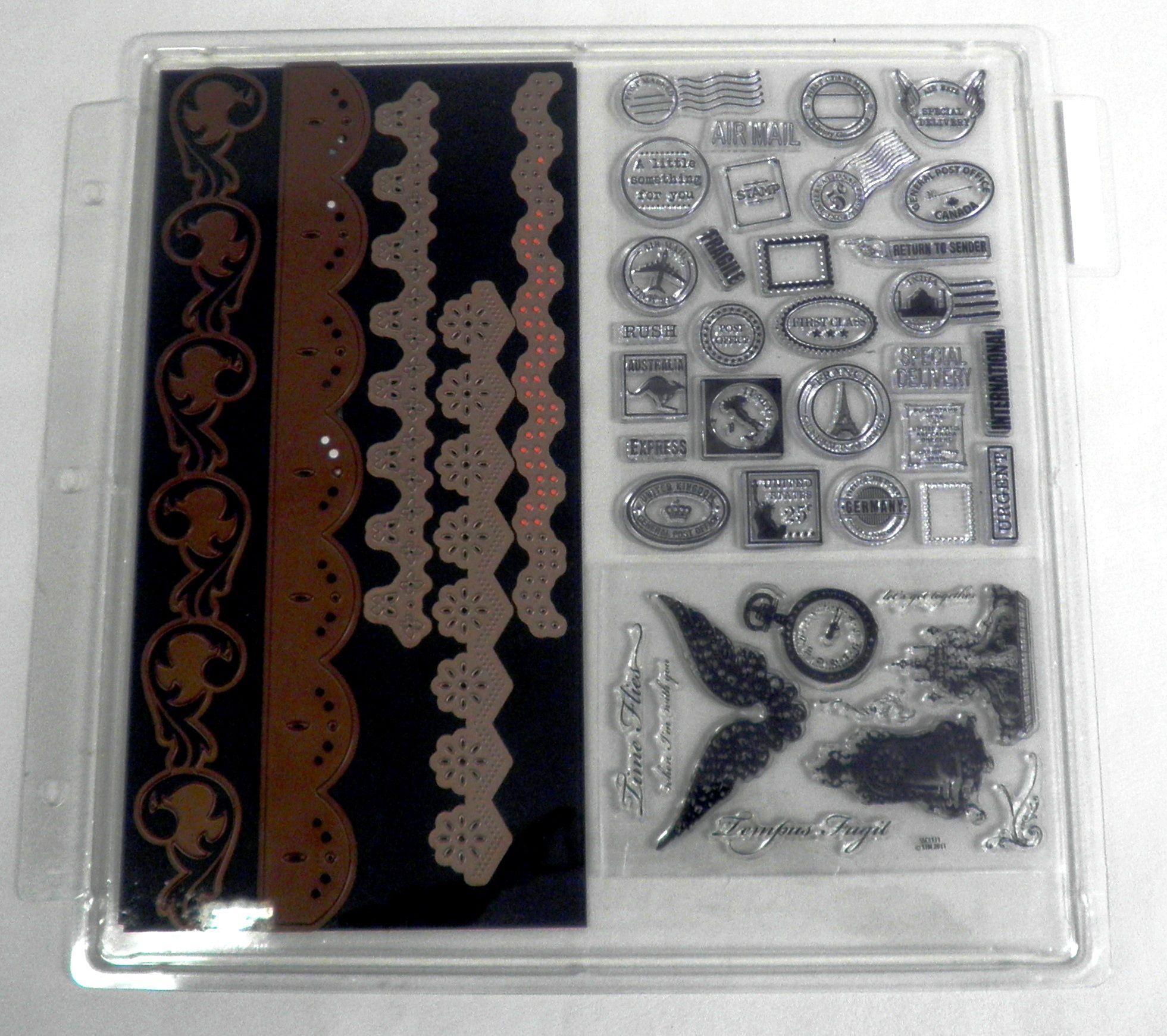 TT   Clear St& Storage Trays - 3pk   Scrapbooking Cardmaking u0026 Craft Room Organization products & TT   Organizations Craft and Craft organization