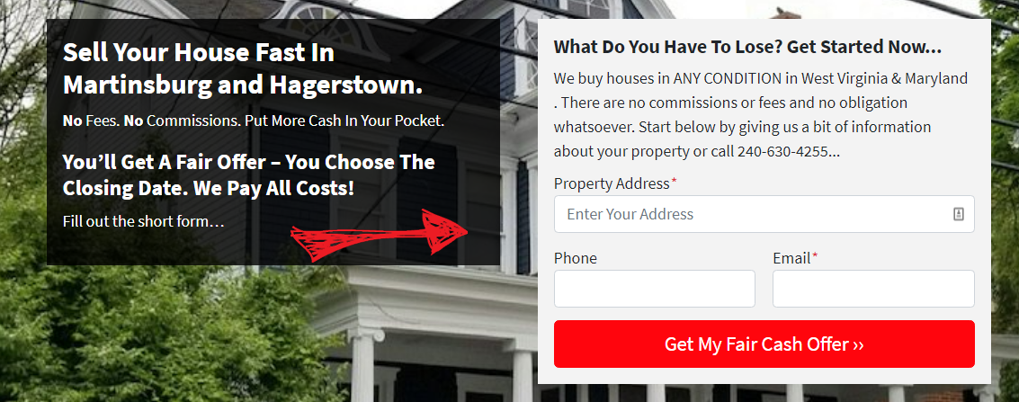 Sell My House Fast In Martinsburg And Hagerstown Mdwvhomebuyer Com In 2020 Sell My House Fast We Buy Houses Sell Your House Fast
