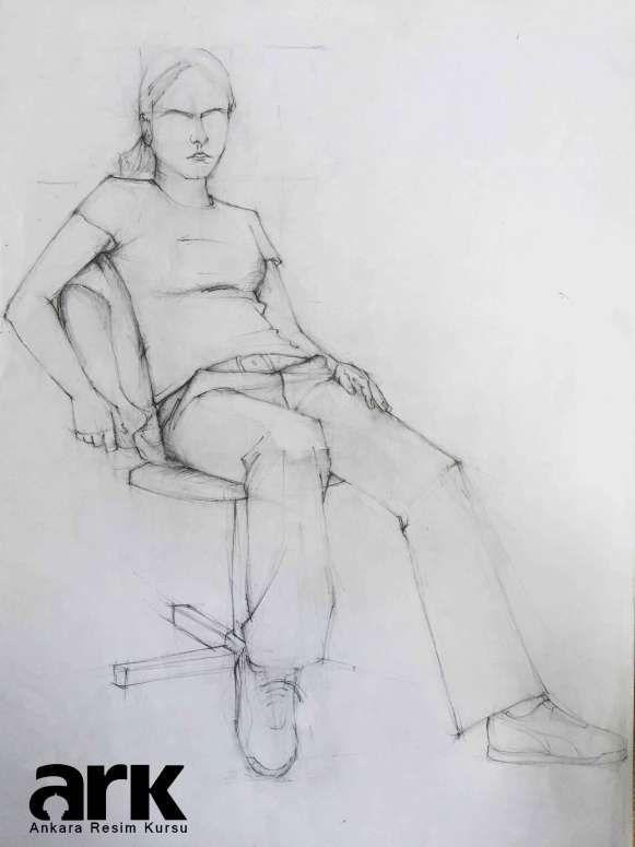 Desen Ve Imgesel çalışmaları çizim örnek Art Sketches Human