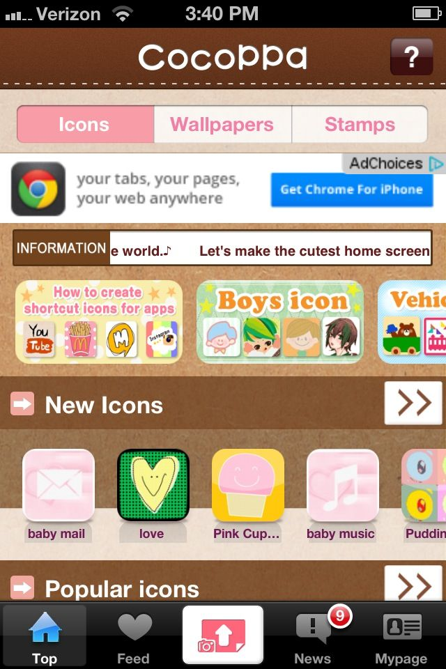 How to Make Your iPhone Pretty with Cocoppa Make it