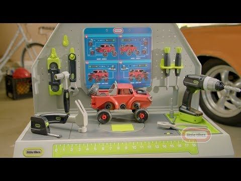Marvelous Toddler Workbench Contruct Learn Tool Bench Little Ocoug Best Dining Table And Chair Ideas Images Ocougorg