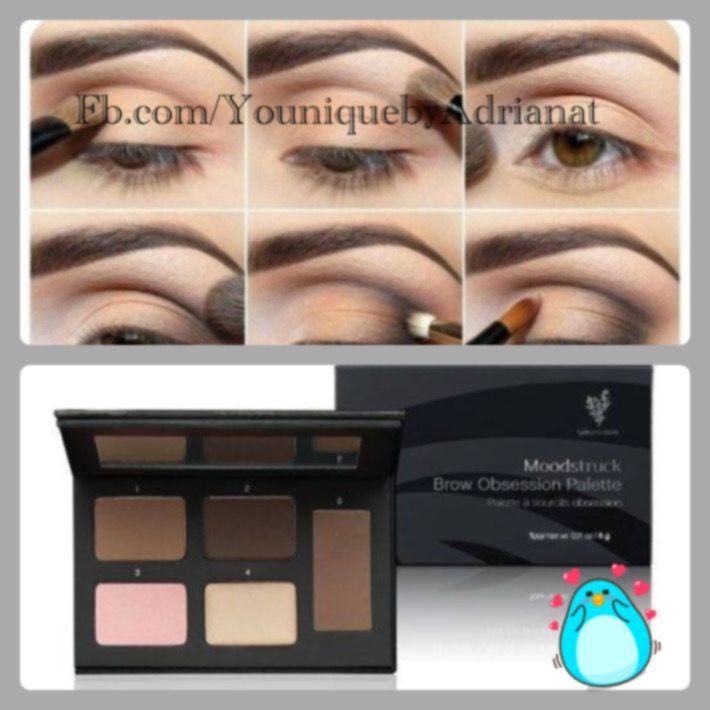 Nueva paleta de cejas de younique! Una sola paleta con 2 tonos, 2 iluminadores, 1 corrector y una cera fijadora para planchar tu ceja!!  Cómprala aquí y selecciona la bandera de tu país https://www.youniqueproducts.com/AdrianaT/products/view/US-21004-00#.WNXjTDyPOEc #younique #makeup #cosmetics #skincare #youniquemexico #youniqieespaña #youniquebyAdrianat #beyounique