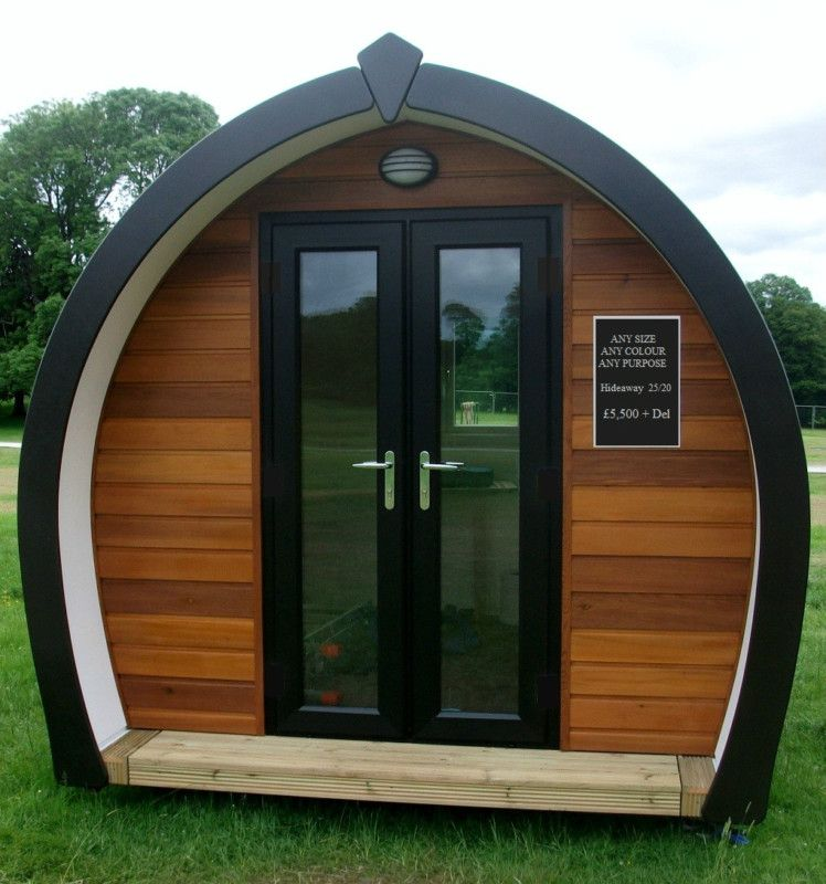 Home Office/Garden Room/Camping Cabin/Pod/Granny Annex/En