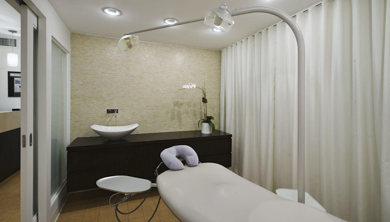 Dental hygiene room dental office